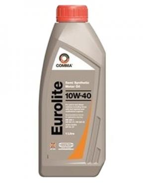 Полусинтетическое моторное масло Comma EUROLITE 10w-40 4L 1