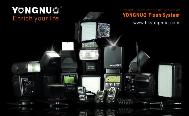 Модельный ряд вспышек Yongnuo