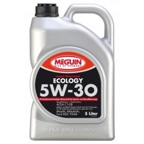 Синтетическое моторное масло Meguin megol motorenoel sae 5w-30 Ecology 5L