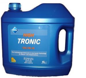 Синтетическое моторное масло Aral High Tronic 5w-40