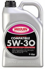 Синтетическое моторное масло Meguin megol motorenol Compatible sae 5w-30 5L