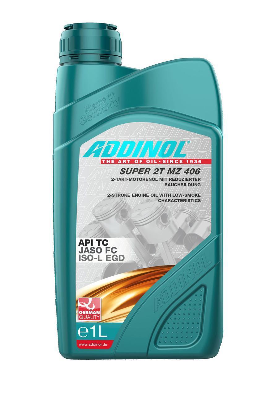 Полусинтетическое двухтактное масло Addinol Super 2T MZ 406 1L
