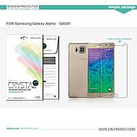 Защитная пленка Nillkin для Samsung G850F Galaxy Alpha глянцевая