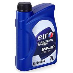 Синтетическое моторное масло Elf Evolution 900 SXR sae 5w-40 4L 1, 1л, Франция