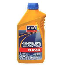Минеральное моторное масло Yukoil Classic 15w-40 1л