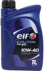 Полусинтетическое моторное масло Elf EVOLUTION 700 STI 10w-40 4L 1л
