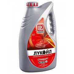 Минеральное моторное масло Lukoil Standart 15w-40 4Л 4л