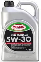 Синтетическое моторное масло MEGUIN MEGOL MOTORENOEL FUEL ECONOMY 5W-30 5L