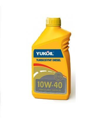 Полусинтетическое моторное масло Yukoil TurboSynt Diesel 10w-40 1л