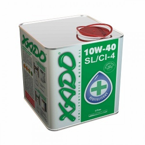 Полусинтетическое моторное масло Xado 10w-40 SL/CI-4  max drive 1, 1л, Xado, Нидерланды