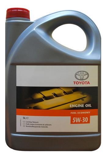 Моторное масло Toyota Motor Oil 5W-30 Fuel Economy 5л