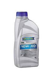 Полусинтетическое моторное масло Ravenol TSI 10w-40 4L 1л