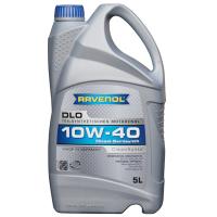 Полусинтетическое моторное масло Ravenol DLO 10w-40 5, 5л, Ravenol, Германия