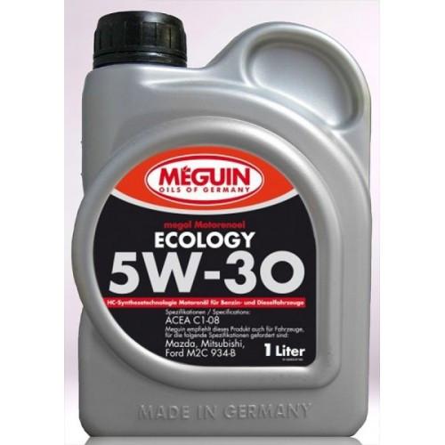 Синтетическое моторное масло Meguin megol motorenoel sae 5w-30 Ecology 5L 1л
