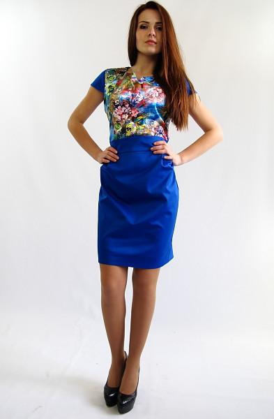 Яскраве молодіжне плаття. Сукня Поліна.