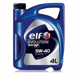 Синтетическое моторное масло Elf Evolution 900 NF 5w-40 5л