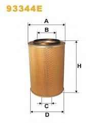 Воздушный фильтр на Камаз Wix 93344E (AM 400)