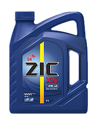 Полусинтетическое моторное масло Zic 10w-40 X5 4l 1л