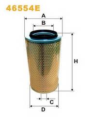 Воздушный фильтр Wix 46554E (Am 420)