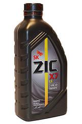 Полусинтетическое моторное масло Zic X7 10w-40 4л 1л