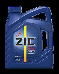 Полусинтетическое моторное масло Zic 10w-40 X5 4л