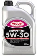 Синтетическое моторное масло Meguin megol motorenol Compatible sae 5w-30 5L 5л