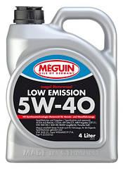 Синтетическое моторное масло  Meguin Low Emission 5w-40 4L 4л