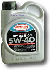 Синтетическое моторное масло  Meguin Low Emission 5w-40 4L 1, 1л, Германия