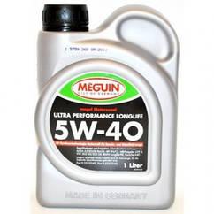 Синтетическое моторное масло MEGUIN MEGOL MOTORENOEL  ULTRA PERFORMANCE LONGLIFE 5w-40 4L 1л