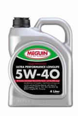 Синтетическое моторное масло MEGUIN MEGOL MOTORENOEL  ULTRA PERFORMANCE LONGLIFE 5w-40 4L 4, 4л, Германия
