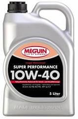 Полусинтетическое моторное масло Meguin Megol Motorenoel Super Performance SAE 10w-40 5L 5л