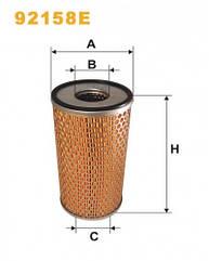 Масляный фильтр Wix 92158E Filtron OM 680