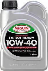 Полусинтетическое моторное масло Meguin MEGOL MOTORENOEL  Syntech Premium 10W-40 4L 1л