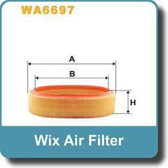 Воздушный фильтр на Renault (Dacia) Logan WA 6697