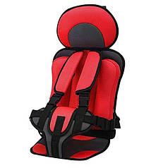 Детское бескаркасное автокресло Child Car Seat Red
