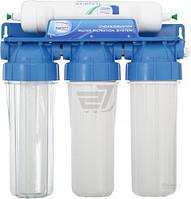 Тройная система очистки Aquafilter 3-ступенчатая с капиллярной мембраной (FP3-4)