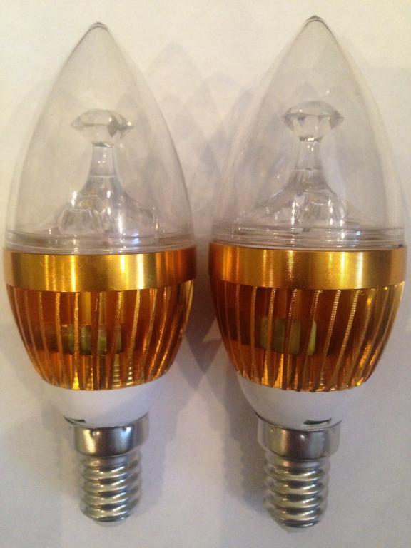 Лампа лампочка 3 Gree LED 5Вт цоколь E14 Акция !!!