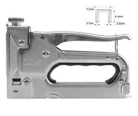 Степлер 4-14мм для скоб 0,7мм. YATO YT-7007