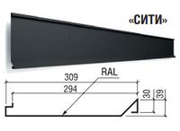 Фасадные панели Сити - Термастил  0,4 мм, Китай Printech Золотой дуб