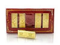 5 золотых слитков