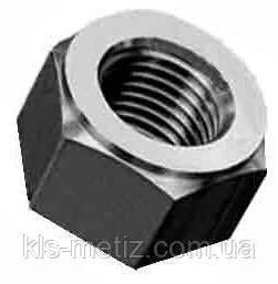 Гайка шестигранная для шпилек с утонченным стержнем DIN 2510-5 от М 12 до М 180, фото 2