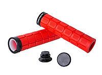 Ручки керма Green Cycle GGR-419 130mm Red Black