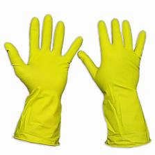 Перчатки для уборки латексные, прочные, Household Gloves, размер — L, фото 2