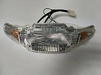 Фара в сборе (+ патроны + лампочки) Honda Dio AF-27 (Mototech Тайвань)