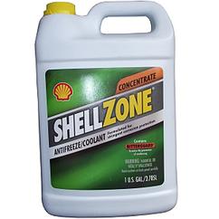 Концентрований антифриз Shellzone до -80°C зелений G11