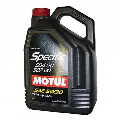 Синтетическое моторное масло Motul Specific 5w-30 504.00/507.00