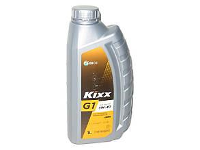 Синтетическое моторное масло Kixx G1 5w40 1л, Kixx, Корея