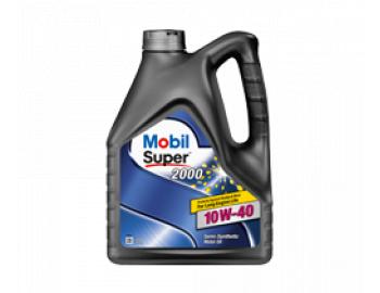 Полусинтетическое моторное масло Mobil Super™ 2000 X1 10W-40 4л