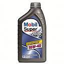 Полусинтетическое моторное масло Mobil Super™ 2000 X1 10W-40 4л, фото 2