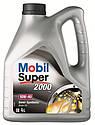 Полусинтетическое моторное масло Mobil Super™ 2000 X1 10W-40 4л, фото 4